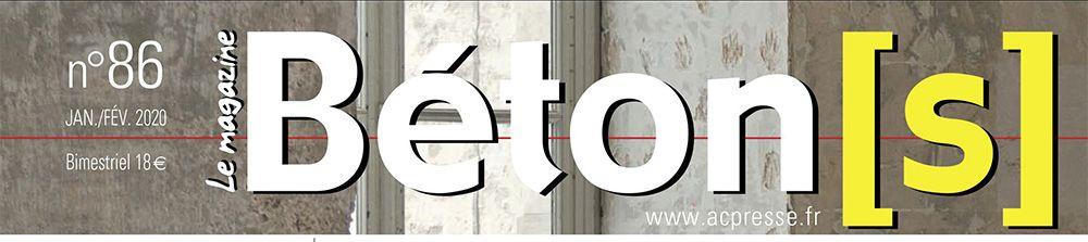 Parution dans Béton[s] le Magazine – N°86